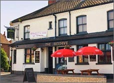The popular Beehive pub on Leopold Road, Norwich